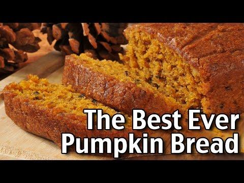 The Best Homemade Pumpkin Bread