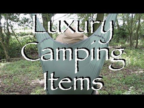 My Top Three Luxury Wild Camping Items.