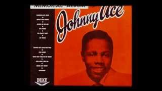 """JOHNNY ACE - """"ANYMORE""""  (1955)"""