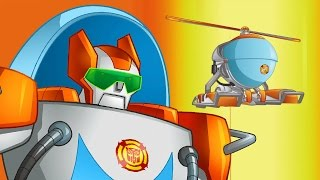 #Мультик Трансформеры #БотыСпасатели. #TransformersRescueBots. Серия 3 Горячие выстрелы