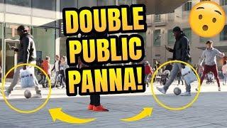 Outrageous DOUBLE PANNA!   Top 3 Pannas #8