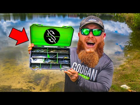 ULTIMATE Pond Fishing Tackle Box (Googan ONLY Edition)