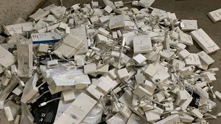 Massive 500+ Apple Laptop Pickup From an Electronics Recycler