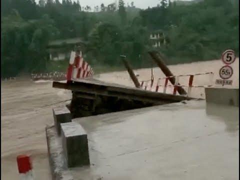 Heavy Rains Hit Various China Provinces