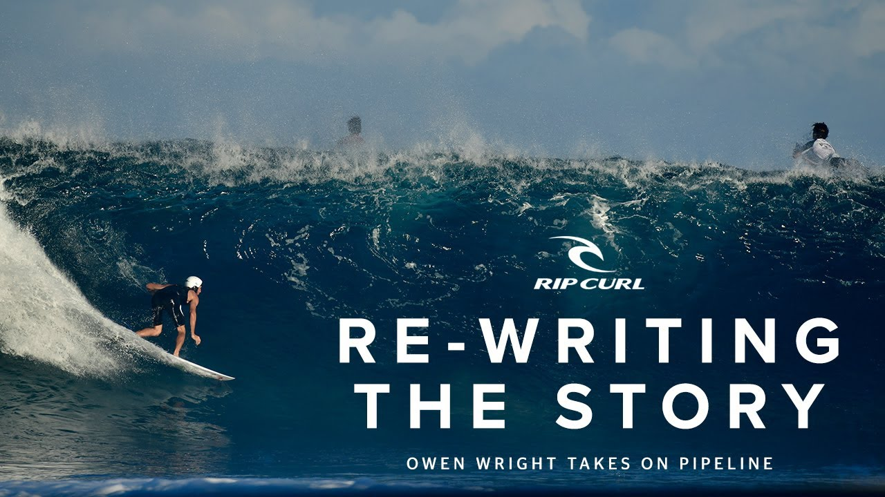 Re-Writing the Story: Owen Wright Takes on Pipeline