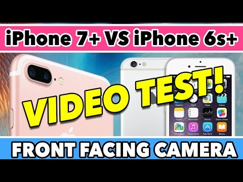 iPhone 7 Plus VS iPhone 6s Plus Front Facing Camera Shootout!