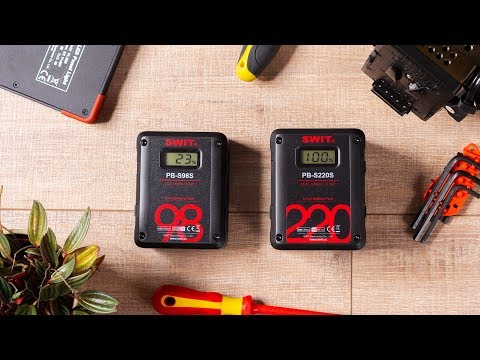 Compact Cinema Batteries - SWIT PB-S Batteries
