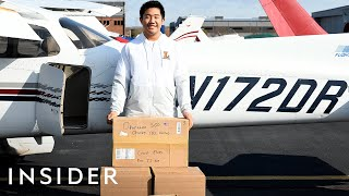 16-Year-Old Pilot Flies Emergency Medical Supplies To Rural Hospitals