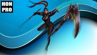 HoN Pro Silhouette Gameplay - KiDCatMoMo - Legendary