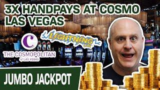 ⚡ OHMYGOD 3 HANDPAY JACKPOTS on Lightning Link - Cosmo Las Vegas, I 💙 You