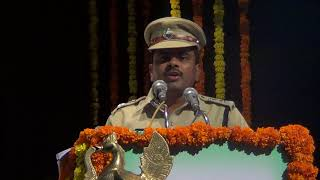 Hyd Traffic Police Road Safety program-Sri.L.S.Chowhan,IPS,DCP Tr.2 speech/PRO HYD