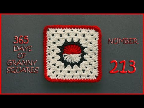 365 Days of Granny Squares Number 213