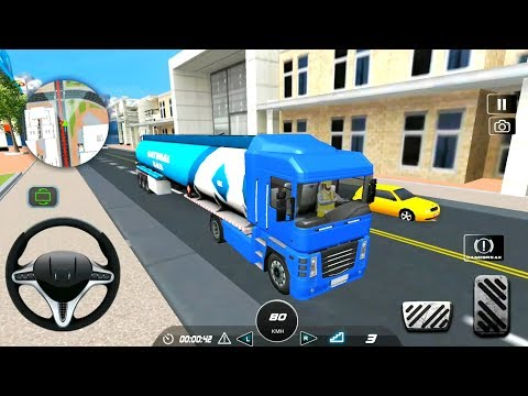 Indian Oil Tanker Truck Simulator 2019 - Cargo Transporter - Android Gameplay FHD
