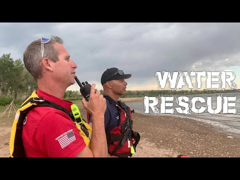 Water Rescue/Recovery And A Wildland Fire - PIO Vlog