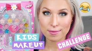 ♦ Kids makeup challenge, czyli makijaż kosmetykami dla dzieci! ♦