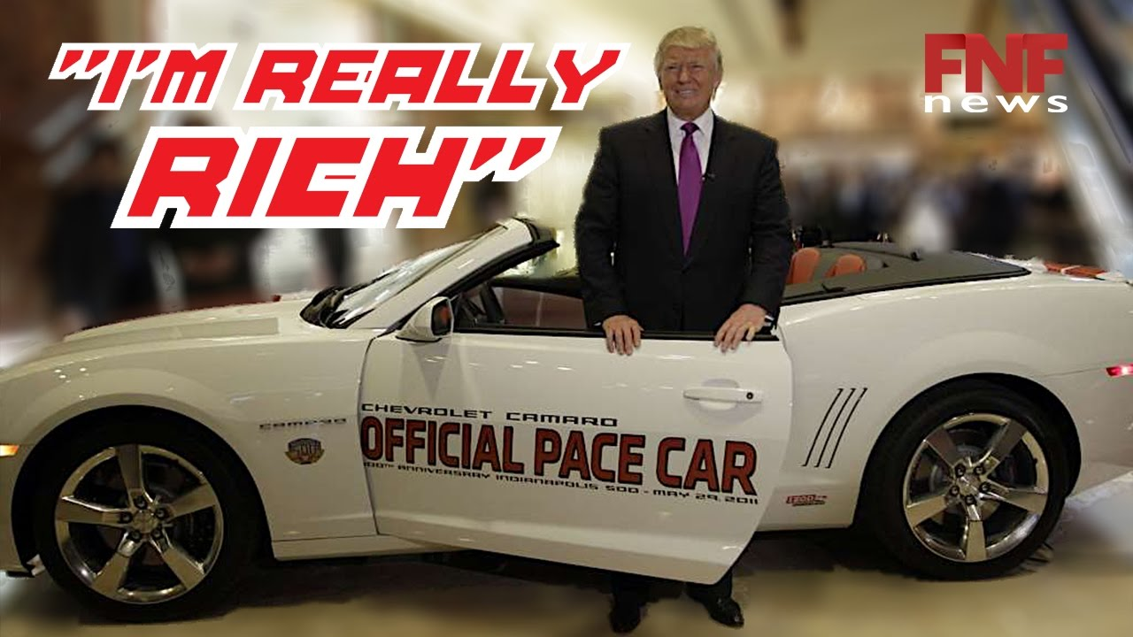 List Of Luxury Cars Owned By Donald Trump Youtube
