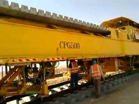 Rail Track Laying Process - Archirodon Construction Saudi Arabia