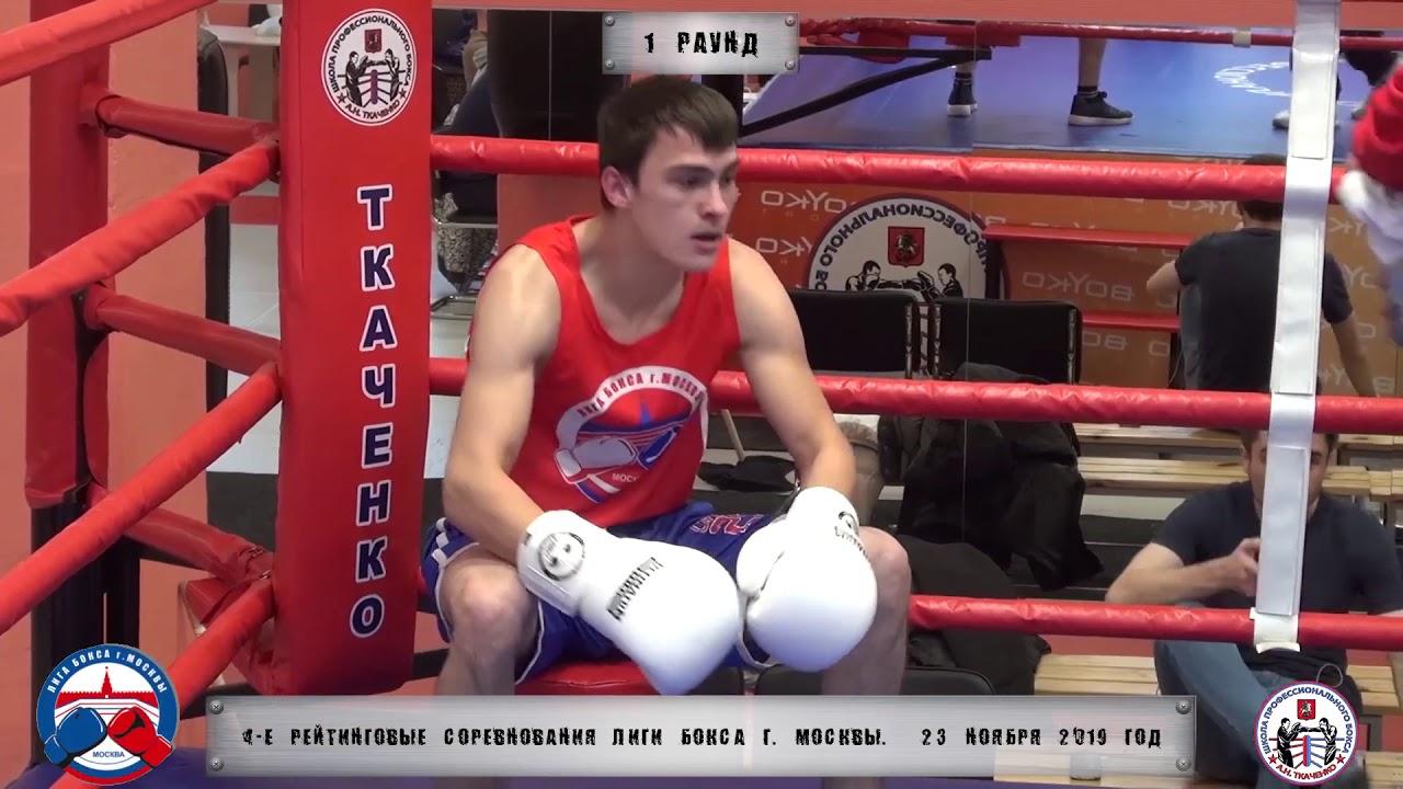 Лига Бокса Москвы. Первый бой - Дмитрий Додонов (два месяца тренировок)
