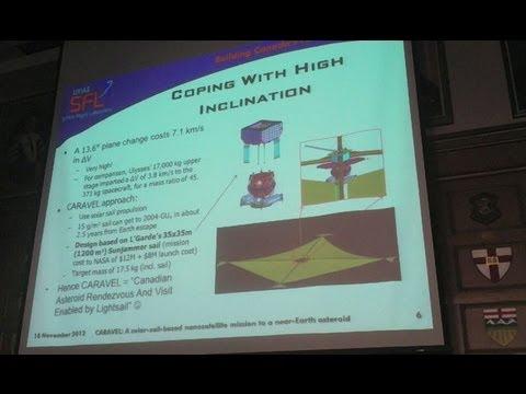 CARAVEL: A Solar-Sail-Based Nanosatellite Mission to a Near-Earth Asteroid