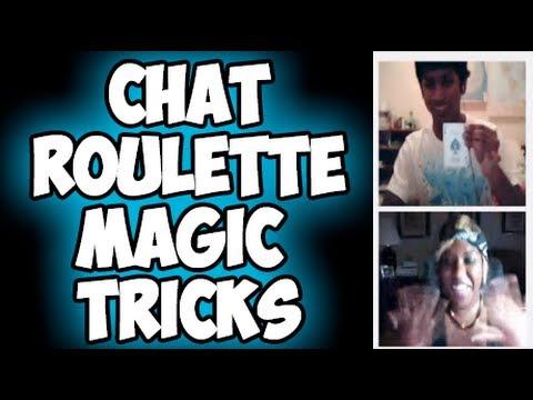 ChatRoulette Magic Tricks - 동영상