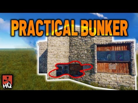 the-practical---strong-bunker-base---rust