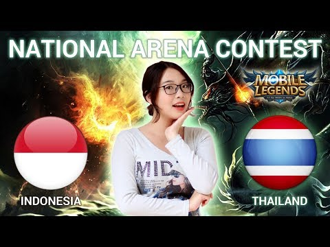 INDONESIA VS THAILAND - National Arena Contest Cast by Kimi Hime - 12/01/2018