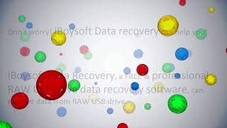 Free RAW USB drive data recovery