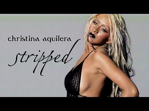 Christina Aguilera - Behind The Scenes Of Stripped Album Photoshoot