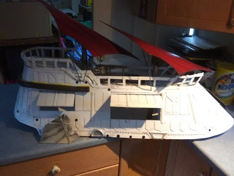 brazil Sail Barge - mcrobo creations