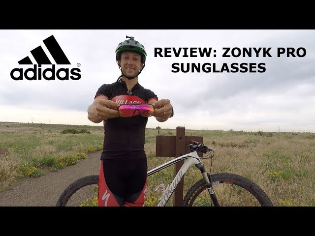 crema molino Buena suerte  Adidas Zonyk Pro Sunglasses Review – with Vario Tuned Lenses! - YouTube