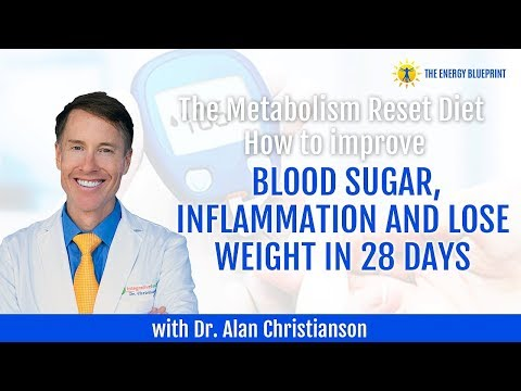 How To Improve Blood Sugar, Inflammation And Lose Weight In 28 Days With Dr. Alan Christianson