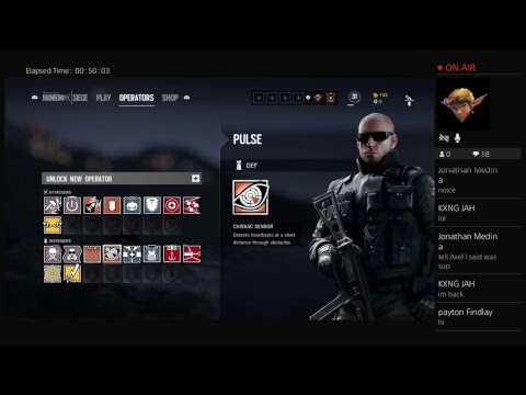 Rainbow 6 Seige with Axel New Double Series!!!
