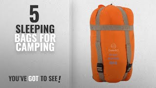 Top 5 Sleeping Bags For Camping [2018]: OuterEQ Sleeping Bags Camping Sleeping Bag Orange