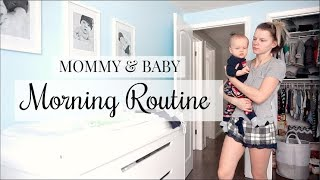 MORNING ROUTINE | MOM & BABY