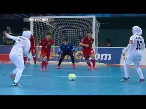[Highlights] AFC Womens Futsal Championship Malaysia 2015 - Match #4 IR IRAN V HONG KONG