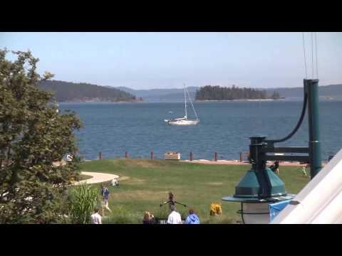 Sidney Waterfront Inn & Suites, Sidney BC, Salish Sea summer time