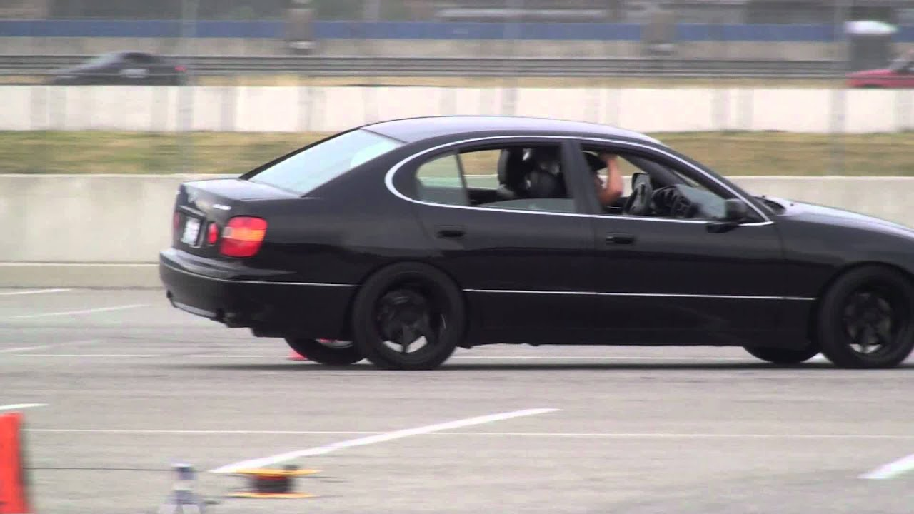 1999 lexus gs400 speed ventures autocross 01 14 12
