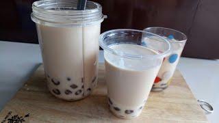 DIY| Cách Làm Trà Sữa Trân Châu Tại Nhà Ngon Như Ngoài Hàng Mà Đơn Giản/ How To Make Bubble Milk Tea