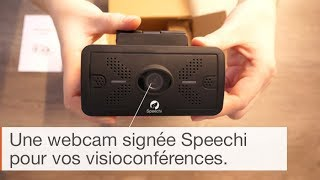 IN THE BOX : Webcam Speechi Full HD (MG-101)