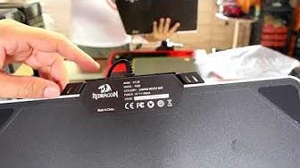 Unboxing Mouse Pad Gamer Iluminado Kilin Rgb P008 Redragon