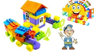 "VIDEO FOR CHILDREN ""Train Builder 115"" Toy Constructor for Toddlers TRAINMAN Review"