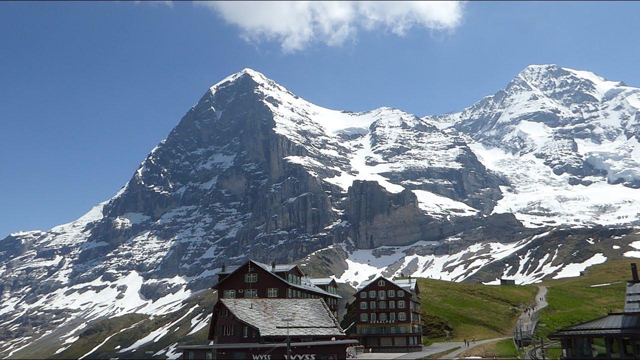 Traumhafte Wanderung unterhalb der Eiger Nordwand im ...
