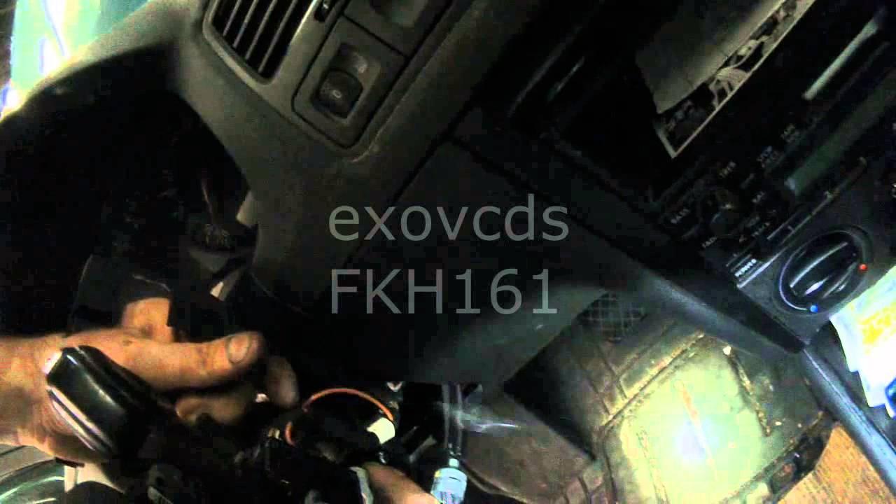 Vw A4 No Start No Crank No Dash Warning Lights Part 2 Youtube