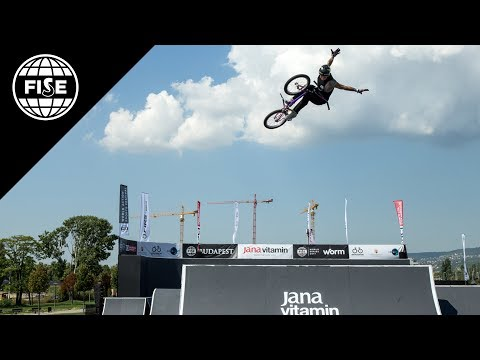 FISE Budapest 2017: UCI BMX Freestyle Park World Cup Men Semi Final - REPLAY