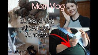 Meine Schwester ist SCHWANGER || Mom Vlog