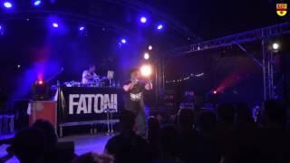FATONI - Live beim Kleinstadtfest (Meppen - Juli 2016)