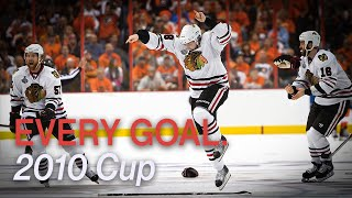 Every 2010 Playoff Goal by the Chicago Blackhawks
