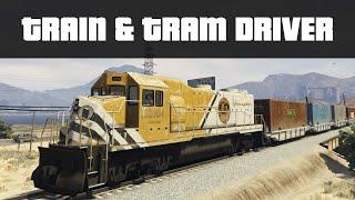 TRAIN & TRAM DRIVER (225MPH TRAINS!) | GTA 5 PC Mods