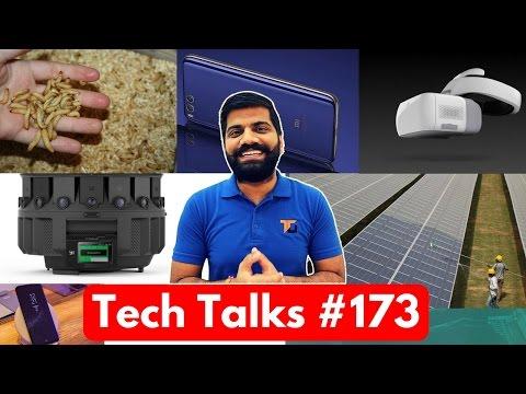 Tech Talks #173 - Small Surprise, Pixel 2017, ISRO App, DJI Goggles, Mi Mix 2, Plastic Problem
