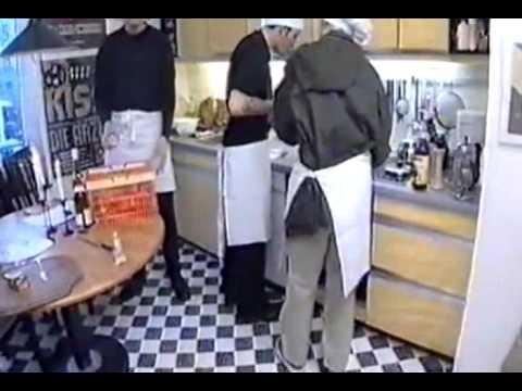 Bela Farin Rod (Die Ärzte) Kochen mit Tobi Schlegl
